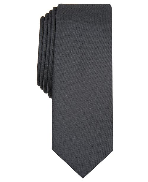 INC International Concepts INC Men's Diamond Solid Skinny Tie, Created for Macy's