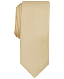 Men's Valley Solid Skinny Tie, Created for Macy's