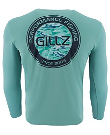Gillz Men's Watermark Logo Graphic Moisture-Wicking UV T-Shirt