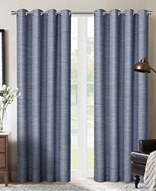 "Sun+Block Blackout Grommet Curtain Panel Pair 52""x84"""