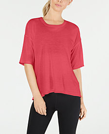 Calvin Klein Performance Split-Back T-Shirt