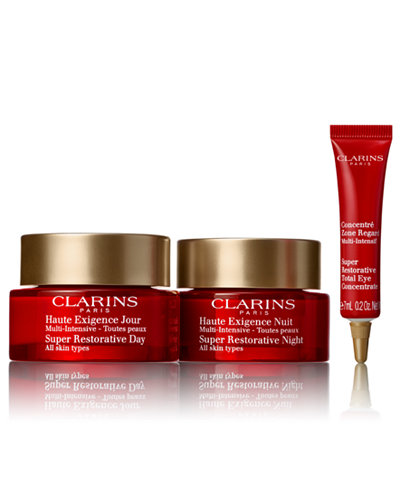 Clarins 3-Pc. Super Restorative Day & Night Defense Set