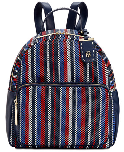 Tommy Hilfiger Julia Dome Woven Backpack