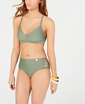 667eb2a90cf53 Body Glove Juniors' Bikini Top & Strappy Bottoms