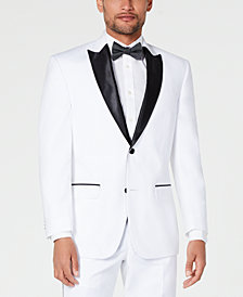 Sean John Men's Classic-Fit White Tuxedo Jacket