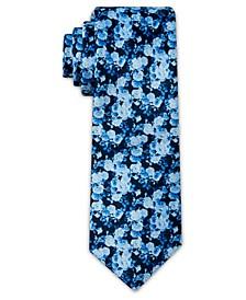 Men's Floral Print Slim Tie
