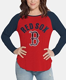 Touch by Alyssa Milano Women's Boston Red Sox Long Sleeve Touch T-Shirt