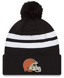 Cleveland Browns Chase Pom Knit Hat