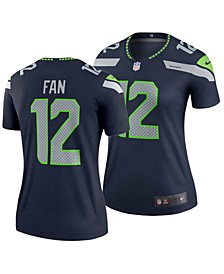 Women's Fan #12 Seattle Seahawks Legend Jersey