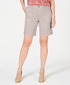 Double-Pocket Cuffed Shorts, Created for Macy's