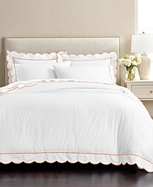 Martha Stewart Signature Scallop 3-Pc. King Duvet Sets, Created for Macy's