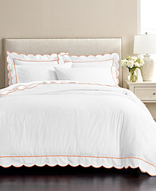 Martha Stewart Signature Scallop 3-Pc. Full/Queen Duvet Sets, Created for Macy's