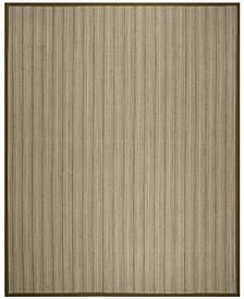 Natural Fiber Multi and Green 9' x 12' Sisal Weave Rug