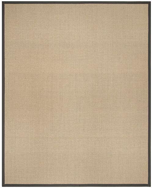 Safavieh Natural Fiber Natural and Gray 9' x 12' Sisal Weave Area Rug