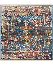 Safavieh Vintage Persian Turquoise and Multi 5' x 5' Square Area Rug