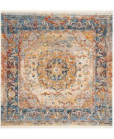 Safavieh Vintage Persian Blue and Multi 5' x 5' Square Area Rug