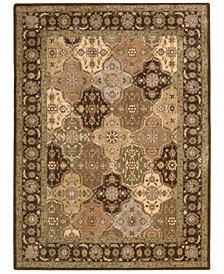 CLOSEOUT! Nourison Round Area Rug, Somerset Collection ST63 Panel Multi 5'6""