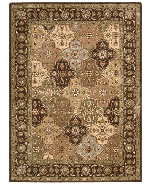 "Nourison CLOSEOUT! Area Rug, Somerset Collection ST63 Panel Multi 2' x 5'9"" Runner Rug"