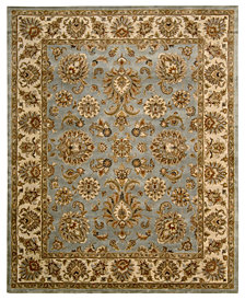 "CLOSEOUT! Nourison Area Rug, Rajah Collection JA32 Indore Light Blue 8'3"" x 11'6"""