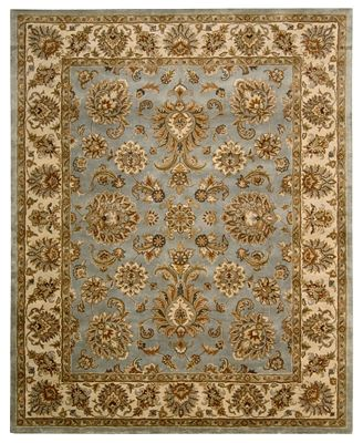 CLOSEOUT! Nourison Area Rugs, Rajah Collection JA32 Indore Light Blue