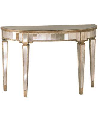 Marais Table Mirrored Accent Table Furniture Macys
