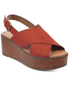 indigo rd. Irfayina Platform Wedge Sandals