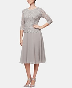 6de9333aa Alex Evenings Dresses: Shop Alex Evenings Dresses - Macy's