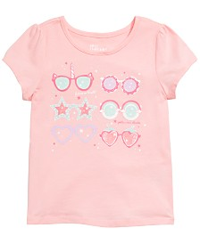 Epic Threads Little Girls Sunglass-Print T-Shirt, Created for Macy's