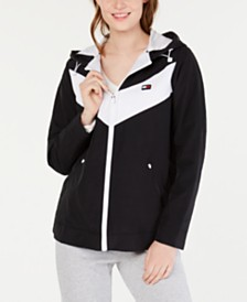 Tommy Hilfiger Sport Chevron Colorblocked Jacket