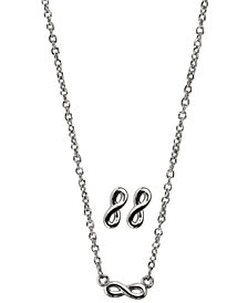 Kitsch Insta Collection Infinity Necklace and Earring Box Set