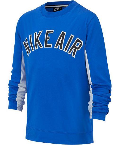 Nike Big Boys Air Graphic T-Shirt