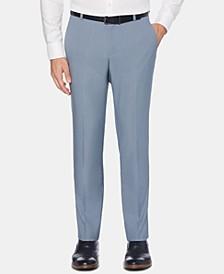 Men's Portfolio Extra-Slim Fit Performance Stretch Heather Non-Iron Dress Pants