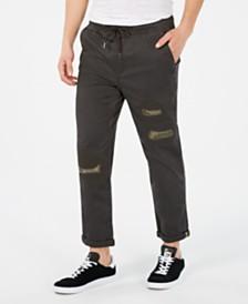 American Rag Men's Slim-Fit Destructed Chinos