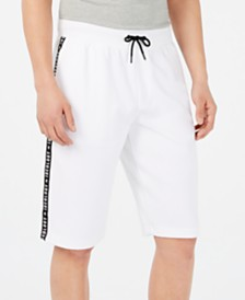 ID Ideology Men's Logo-Tape Shorts, Created for Macy's