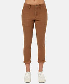 Juniors' Dalton Cropped Skinny Pants