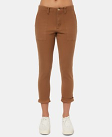 O'Neill Juniors' Dalton Cropped Skinny Pants