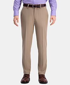 Men's Cool 18 Pro Slim-Fit 4-Way Stretch Moisture-Wicking Non-Iron Dress Pants