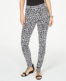 Thalia Sodi Animal Print Pull-On Leggings, Created for Macy's