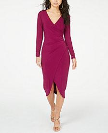 Thalia Sodi Crossover Dress, Created for Macy's