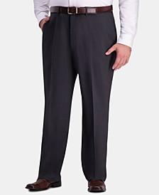 JM Men's Big & Tall Classic-Fit 4-Way Stretch Flat-Front Dress Pants