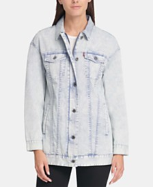 Levi's® Cotton Oversized Trucker Jacket
