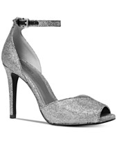 82f22af5c3a1 Silver Bridal Shoes and Evening Shoes - Macy s