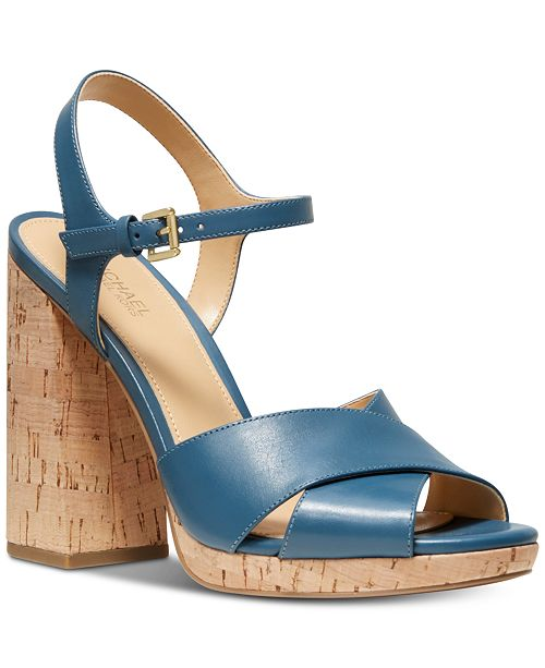 Michael Kors Alexia Platform Sandals