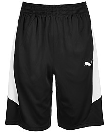 Puma Big Boys Interlock Performance Shorts