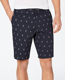 Armani Exchange Men's Logo Graphic Bermuda Shorts
