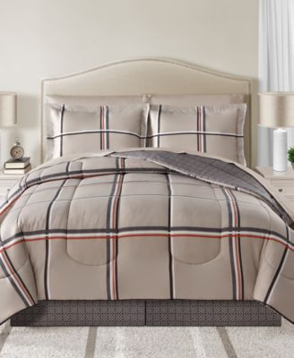 CLOSEOUT! Cameron Reversible 6-Pc. Twin Comforter Set