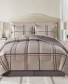 CLOSEOUT! Cameron Reversible 8-Pc. Comforter Sets