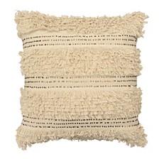"Nepal 22"" square Decorative Throw Pillow"