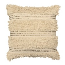"French Connection Nepal 22"" square Decorative Throw Pillow"