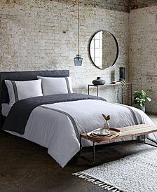 French Connection Platinum 3-Piece Duvet Set Queen